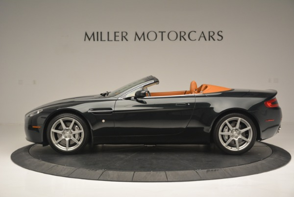 Used 2008 Aston Martin V8 Vantage Roadster for sale Sold at Bentley Greenwich in Greenwich CT 06830 3