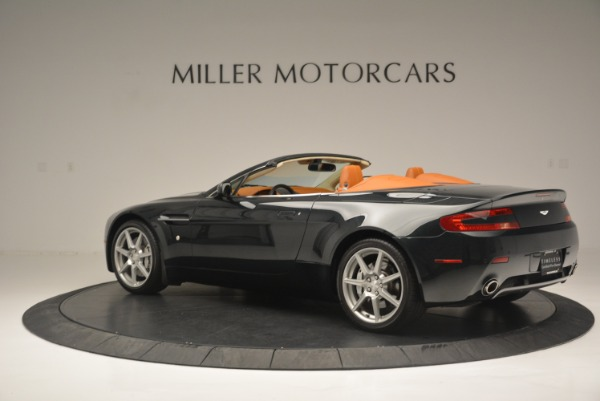 Used 2008 Aston Martin V8 Vantage Roadster for sale Sold at Bentley Greenwich in Greenwich CT 06830 4