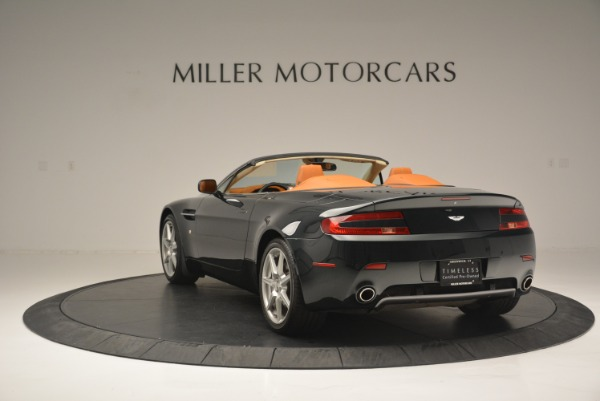 Used 2008 Aston Martin V8 Vantage Roadster for sale Sold at Bentley Greenwich in Greenwich CT 06830 5