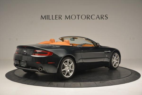 Used 2008 Aston Martin V8 Vantage Roadster for sale Sold at Bentley Greenwich in Greenwich CT 06830 8