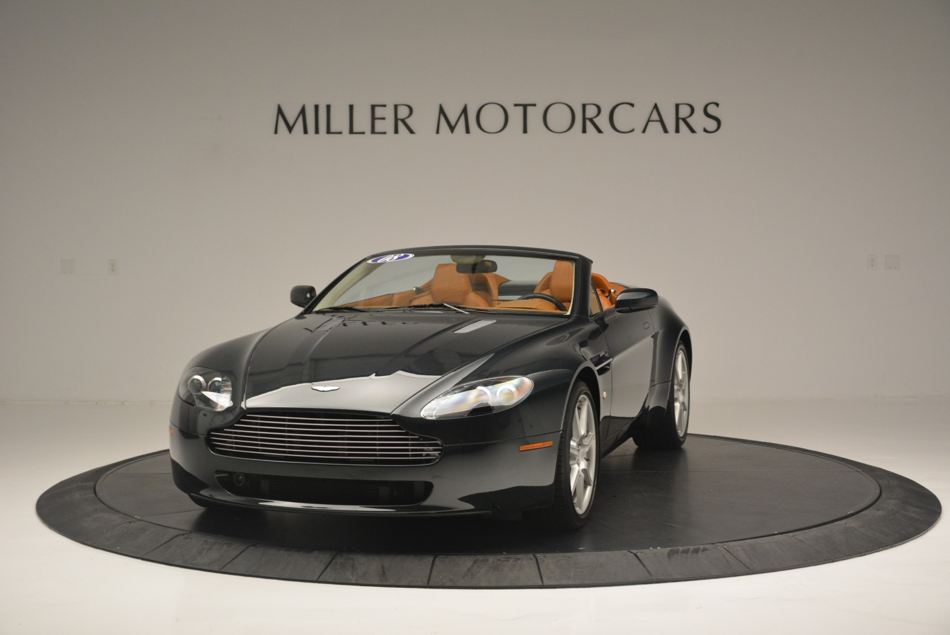 Used 2008 Aston Martin V8 Vantage Roadster for sale Sold at Bentley Greenwich in Greenwich CT 06830 1