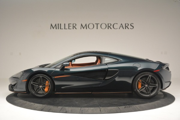 New 2018 McLaren 570GT Coupe for sale Sold at Bentley Greenwich in Greenwich CT 06830 3