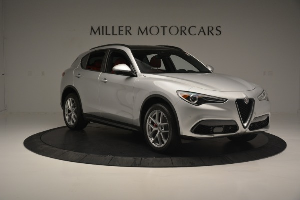 Used 2018 Alfa Romeo Stelvio Ti Sport Q4 for sale $36,900 at Bentley Greenwich in Greenwich CT 06830 12
