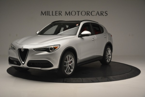 Used 2018 Alfa Romeo Stelvio Ti Sport Q4 for sale $36,900 at Bentley Greenwich in Greenwich CT 06830 2