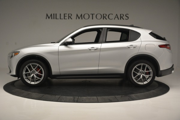 Used 2018 Alfa Romeo Stelvio Ti Sport Q4 for sale $36,900 at Bentley Greenwich in Greenwich CT 06830 3