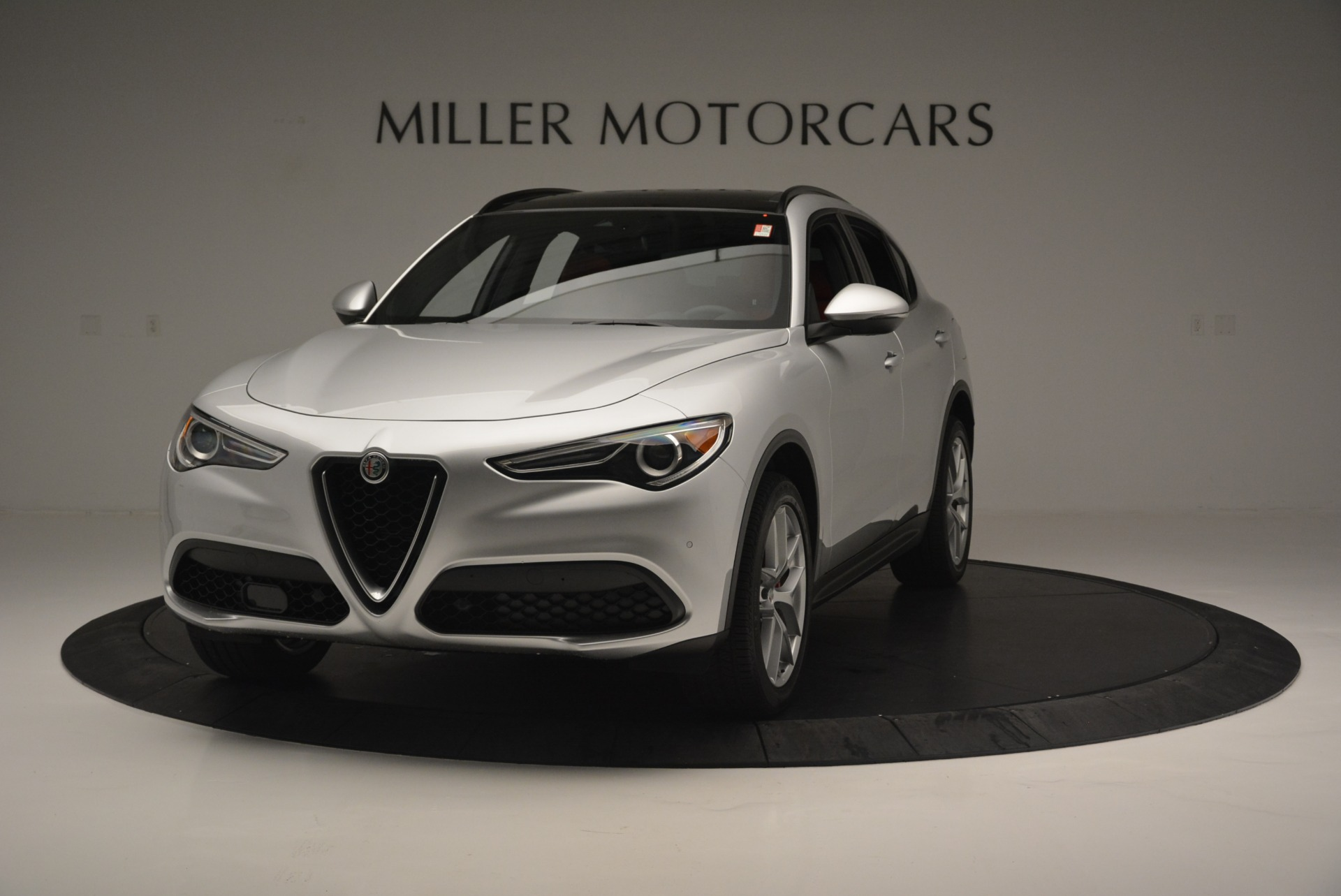 Used 2018 Alfa Romeo Stelvio Ti Sport Q4 for sale $36,900 at Bentley Greenwich in Greenwich CT 06830 1