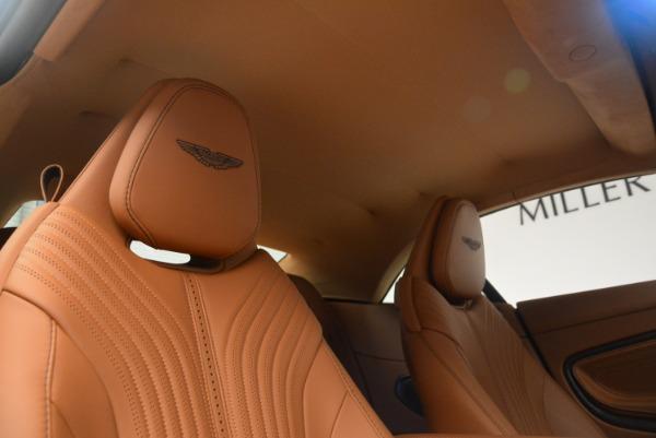 New 2019 Aston Martin DB11 Volante Volante for sale Sold at Bentley Greenwich in Greenwich CT 06830 27
