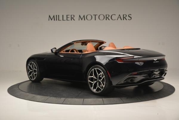New 2019 Aston Martin DB11 Volante Volante for sale Sold at Bentley Greenwich in Greenwich CT 06830 4