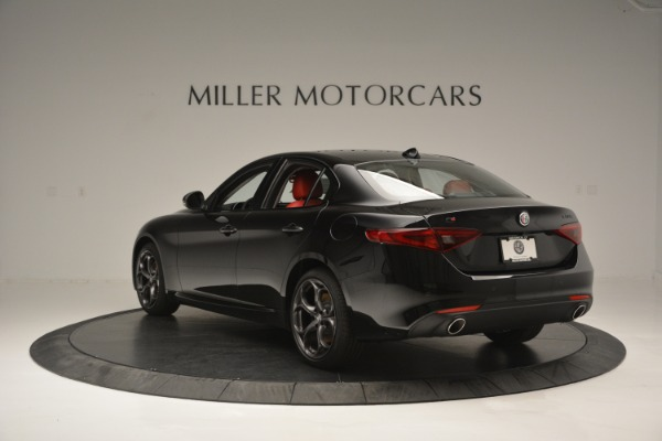 New 2018 Alfa Romeo Giulia Q4 for sale Sold at Bentley Greenwich in Greenwich CT 06830 5