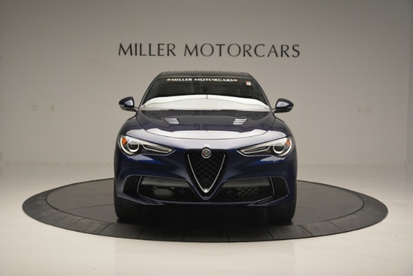 New 2018 Alfa Romeo Stelvio Quadrifoglio for sale Sold at Bentley Greenwich in Greenwich CT 06830 12