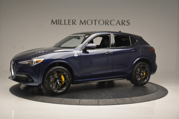 New 2018 Alfa Romeo Stelvio Quadrifoglio for sale Sold at Bentley Greenwich in Greenwich CT 06830 2