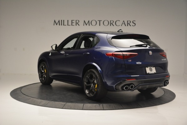 New 2018 Alfa Romeo Stelvio Quadrifoglio for sale Sold at Bentley Greenwich in Greenwich CT 06830 5
