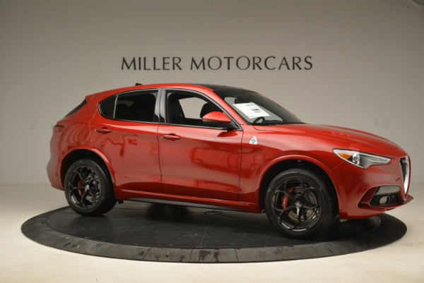 New 2018 Alfa Romeo Stelvio Quadrifoglio for sale Sold at Bentley Greenwich in Greenwich CT 06830 10