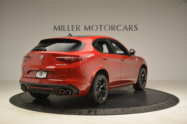 New 2018 Alfa Romeo Stelvio Quadrifoglio for sale Sold at Bentley Greenwich in Greenwich CT 06830 7
