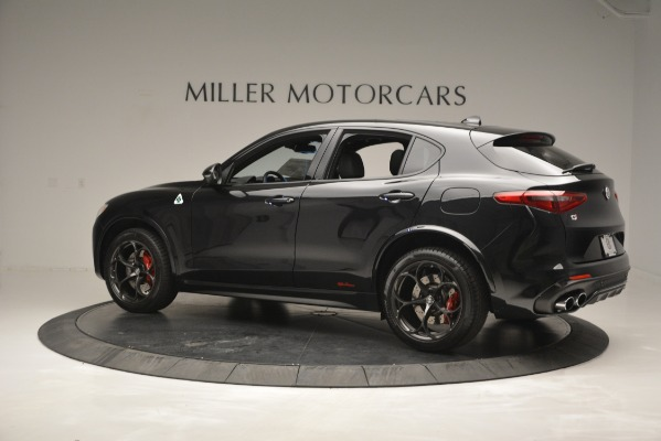 New 2018 Alfa Romeo Stelvio Quadrifoglio for sale Sold at Bentley Greenwich in Greenwich CT 06830 4