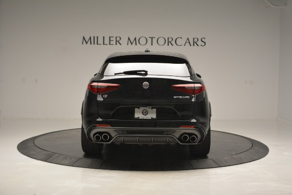 New 2018 Alfa Romeo Stelvio Quadrifoglio for sale Sold at Bentley Greenwich in Greenwich CT 06830 6