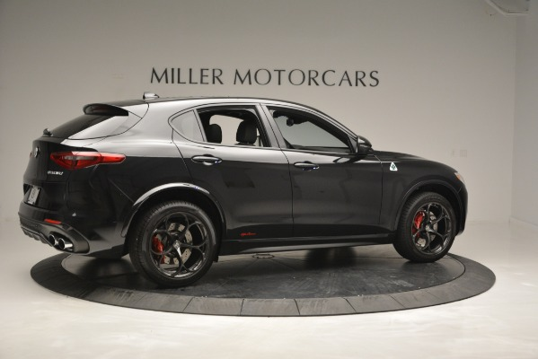 New 2018 Alfa Romeo Stelvio Quadrifoglio for sale Sold at Bentley Greenwich in Greenwich CT 06830 8
