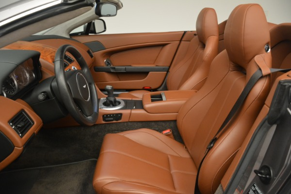 Used 2015 Aston Martin V8 Vantage Roadster for sale Sold at Bentley Greenwich in Greenwich CT 06830 19