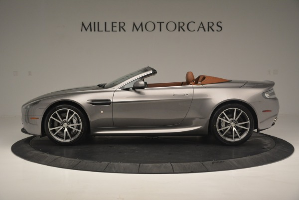 Used 2015 Aston Martin V8 Vantage Roadster for sale Sold at Bentley Greenwich in Greenwich CT 06830 3