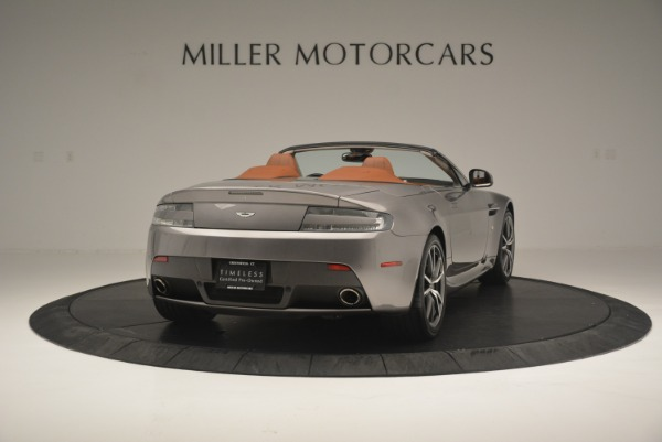Used 2015 Aston Martin V8 Vantage Roadster for sale Sold at Bentley Greenwich in Greenwich CT 06830 7