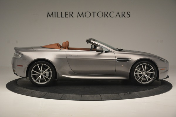 Used 2015 Aston Martin V8 Vantage Roadster for sale Sold at Bentley Greenwich in Greenwich CT 06830 9