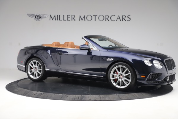 Used 2016 Bentley Continental GTC V8 S for sale $142,900 at Bentley Greenwich in Greenwich CT 06830 10