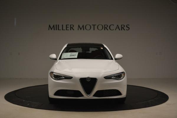 New 2018 Alfa Romeo Giulia Q4 for sale Sold at Bentley Greenwich in Greenwich CT 06830 12