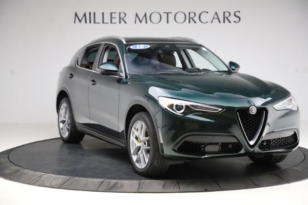 Used 2018 Alfa Romeo Stelvio Ti Q4 for sale $32,900 at Bentley Greenwich in Greenwich CT 06830 11