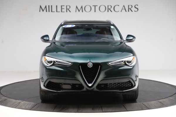 Used 2018 Alfa Romeo Stelvio Ti Q4 for sale $32,900 at Bentley Greenwich in Greenwich CT 06830 12