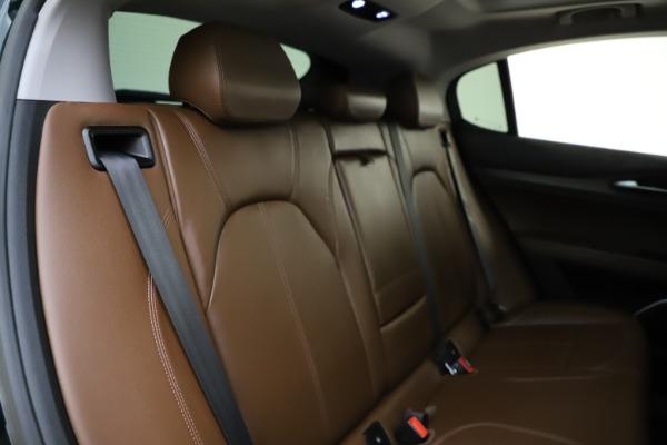 Used 2018 Alfa Romeo Stelvio Ti Q4 for sale $32,900 at Bentley Greenwich in Greenwich CT 06830 26