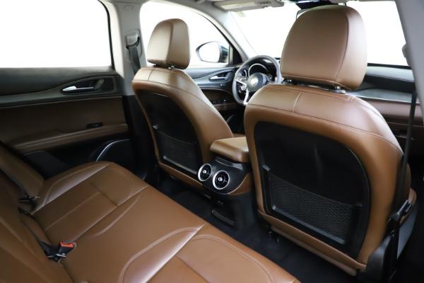 Used 2018 Alfa Romeo Stelvio Ti Q4 for sale $32,900 at Bentley Greenwich in Greenwich CT 06830 28