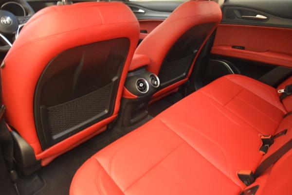 New 2018 Alfa Romeo Stelvio Ti Q4 for sale Sold at Bentley Greenwich in Greenwich CT 06830 16
