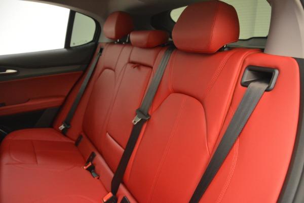 New 2018 Alfa Romeo Stelvio Ti Q4 for sale Sold at Bentley Greenwich in Greenwich CT 06830 18