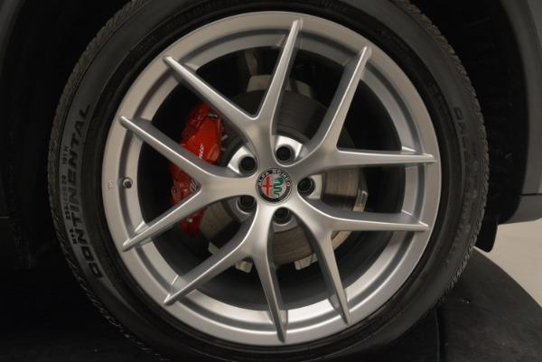 New 2018 Alfa Romeo Stelvio Ti Q4 for sale Sold at Bentley Greenwich in Greenwich CT 06830 25
