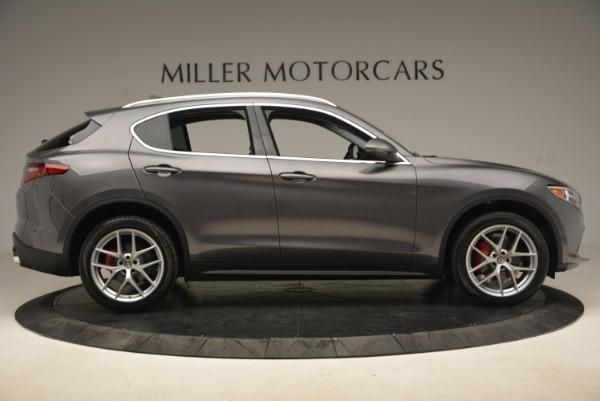 New 2018 Alfa Romeo Stelvio Ti Q4 for sale Sold at Bentley Greenwich in Greenwich CT 06830 9