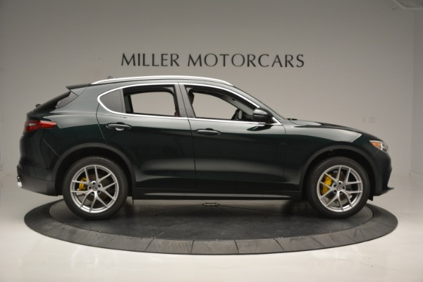 New 2018 Alfa Romeo Stelvio Ti Lusso Q4 for sale Sold at Bentley Greenwich in Greenwich CT 06830 10