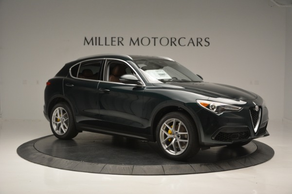 New 2018 Alfa Romeo Stelvio Ti Lusso Q4 for sale Sold at Bentley Greenwich in Greenwich CT 06830 11