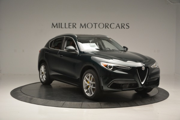 New 2018 Alfa Romeo Stelvio Ti Lusso Q4 for sale Sold at Bentley Greenwich in Greenwich CT 06830 12