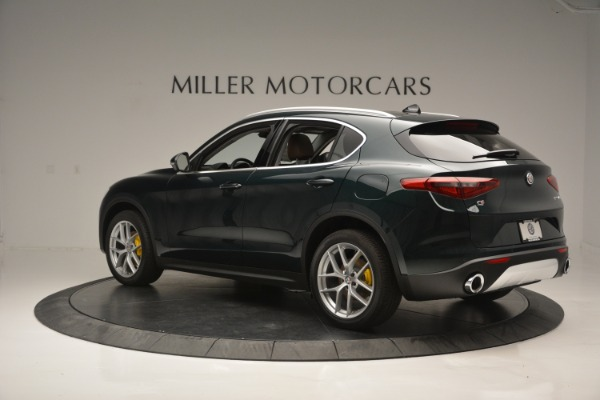 New 2018 Alfa Romeo Stelvio Ti Lusso Q4 for sale Sold at Bentley Greenwich in Greenwich CT 06830 4