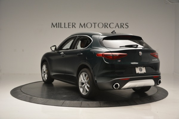 New 2018 Alfa Romeo Stelvio Ti Lusso Q4 for sale Sold at Bentley Greenwich in Greenwich CT 06830 5