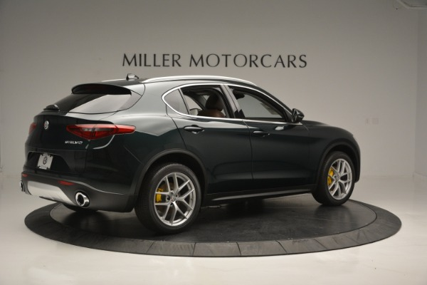 New 2018 Alfa Romeo Stelvio Ti Lusso Q4 for sale Sold at Bentley Greenwich in Greenwich CT 06830 9
