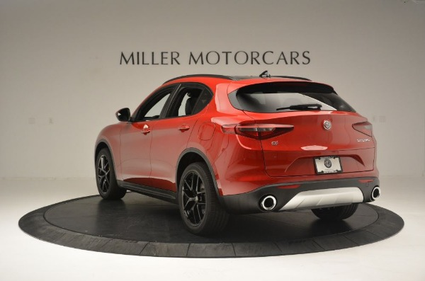 New 2018 Alfa Romeo Stelvio Ti Sport Q4 for sale Sold at Bentley Greenwich in Greenwich CT 06830 5