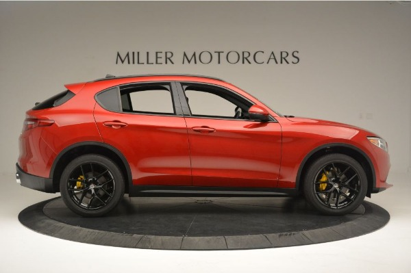 New 2018 Alfa Romeo Stelvio Ti Sport Q4 for sale Sold at Bentley Greenwich in Greenwich CT 06830 9