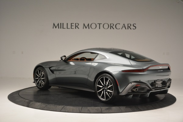 New 2019 Aston Martin Vantage Coupe for sale Sold at Bentley Greenwich in Greenwich CT 06830 4