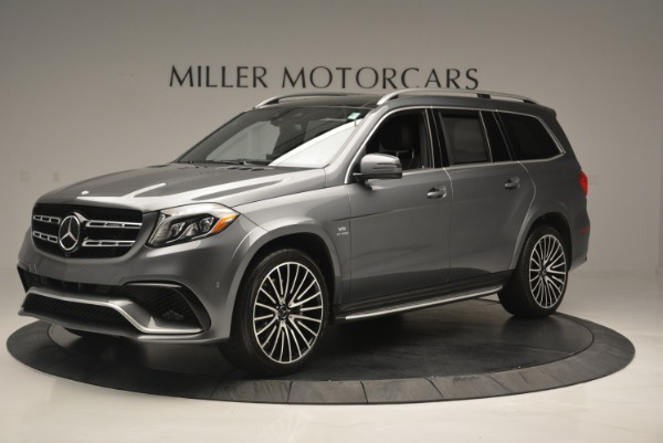 Used 2017 Mercedes-Benz GLS AMG GLS 63 for sale Sold at Bentley Greenwich in Greenwich CT 06830 2