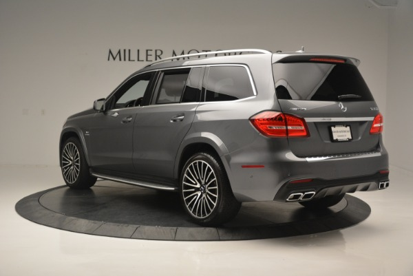 Used 2017 Mercedes-Benz GLS AMG GLS 63 for sale Sold at Bentley Greenwich in Greenwich CT 06830 5
