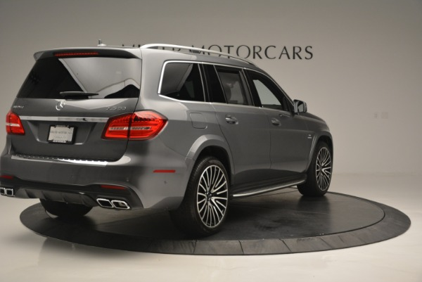 Used 2017 Mercedes-Benz GLS AMG GLS 63 for sale Sold at Bentley Greenwich in Greenwich CT 06830 8