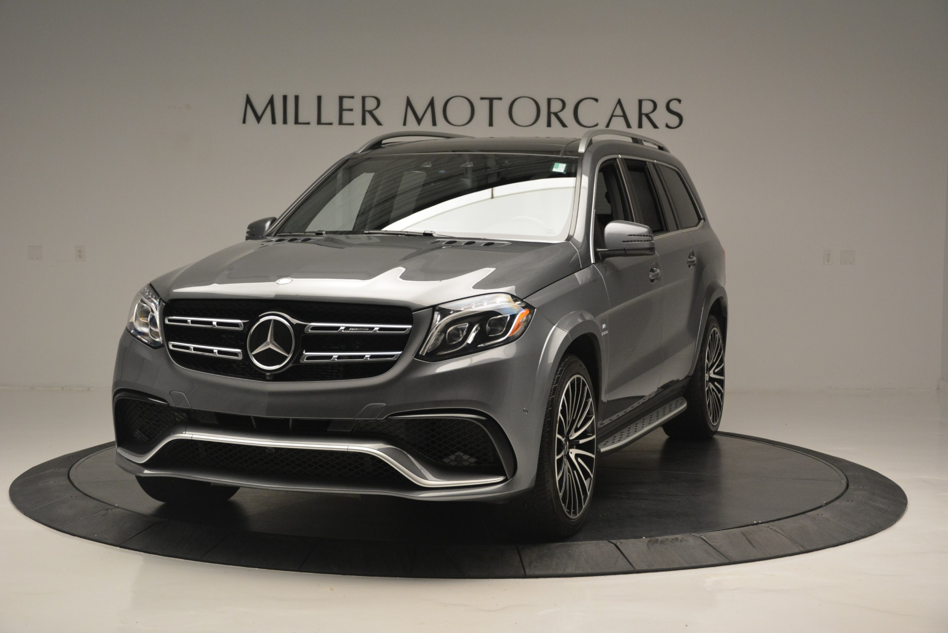 Used 2017 Mercedes-Benz GLS AMG GLS 63 for sale Sold at Bentley Greenwich in Greenwich CT 06830 1
