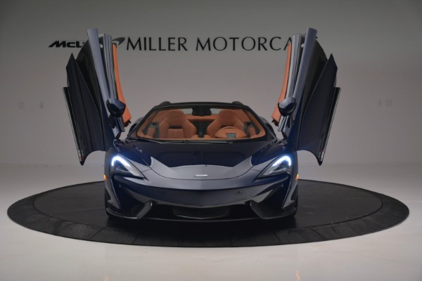 New 2019 McLaren 570S Spider Convertible for sale Sold at Bentley Greenwich in Greenwich CT 06830 13