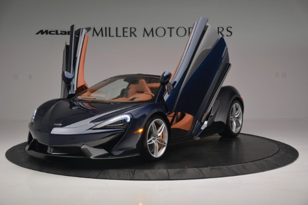 New 2019 McLaren 570S Spider Convertible for sale Sold at Bentley Greenwich in Greenwich CT 06830 14